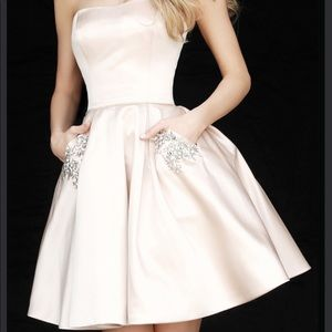 Sherri Hill Dresses - Sherri hill 51390 blush